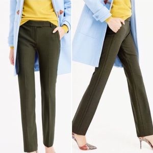[J.Crew] Campbell Trouser Bi-Stretch Wool Pant 6